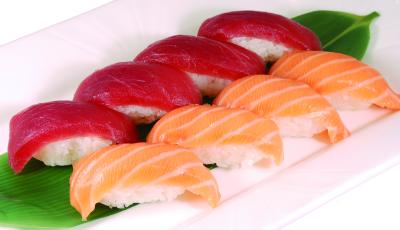 Tuna & Salmon Sushi