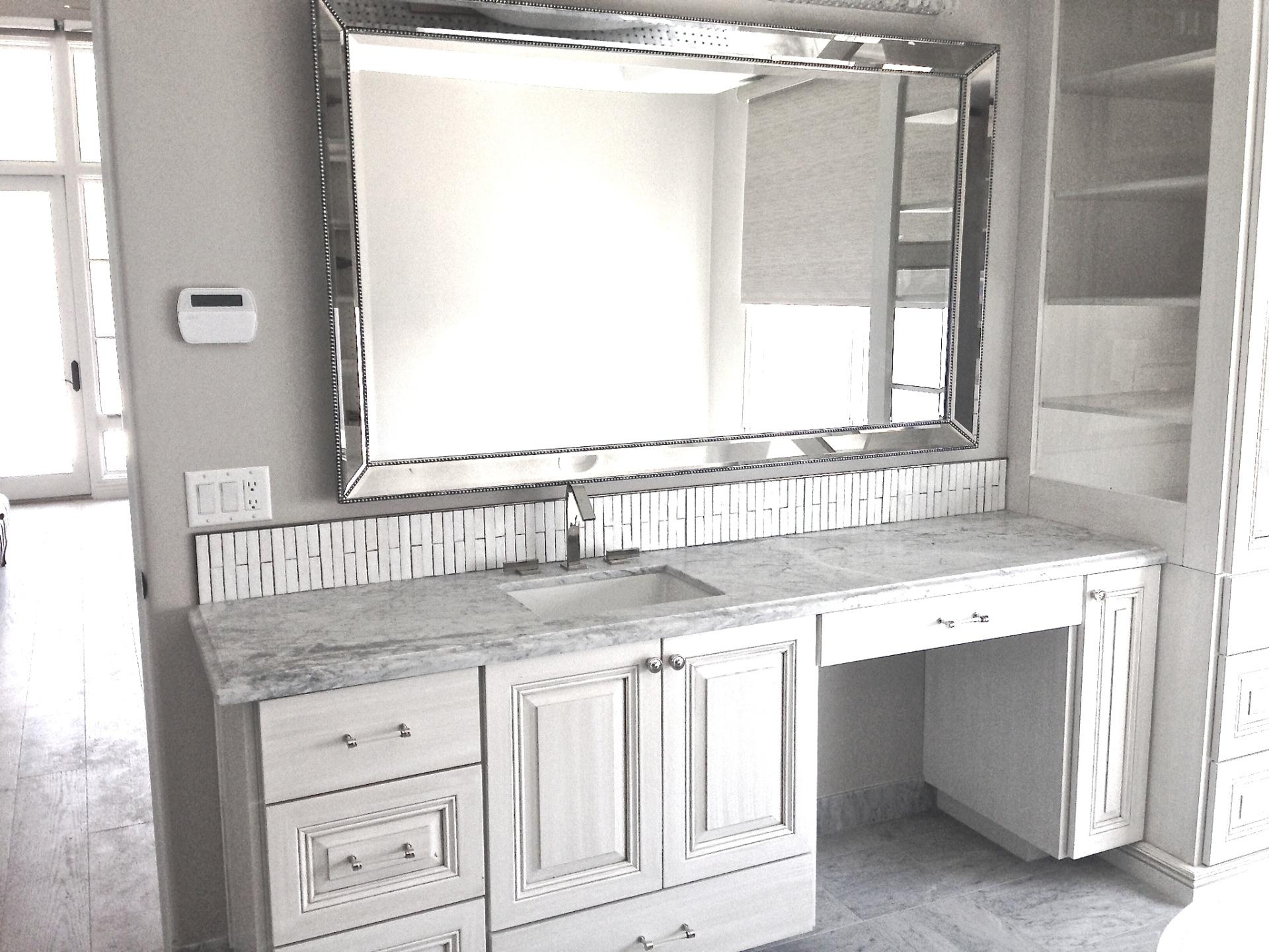 vanity top/bathroom remodeling