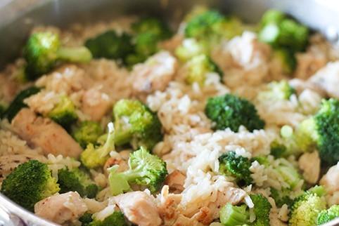 Chicken & Broccoli rice