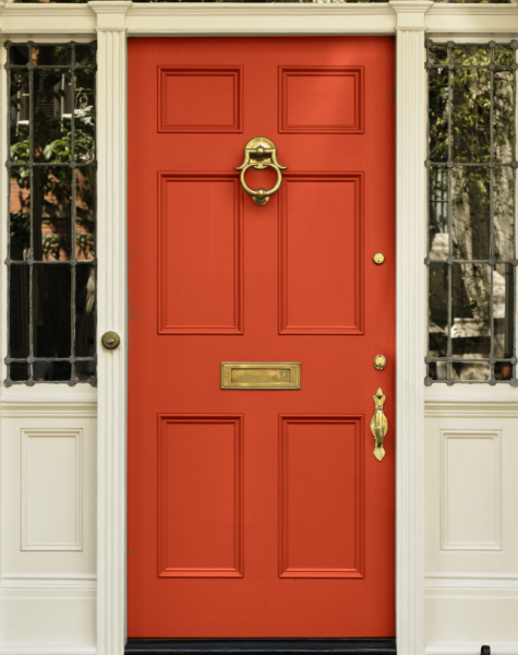 Red Front Door - Curb Appeal