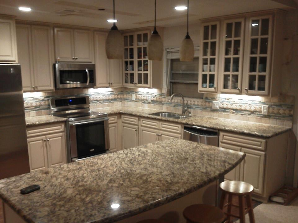 Beach House Kitchen - After