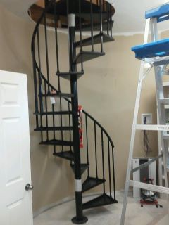 Master Closet remodel with custom stair installation.