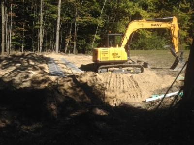 Well, Septic, Leach bed, Leach field, excavation, excavating, services, slab