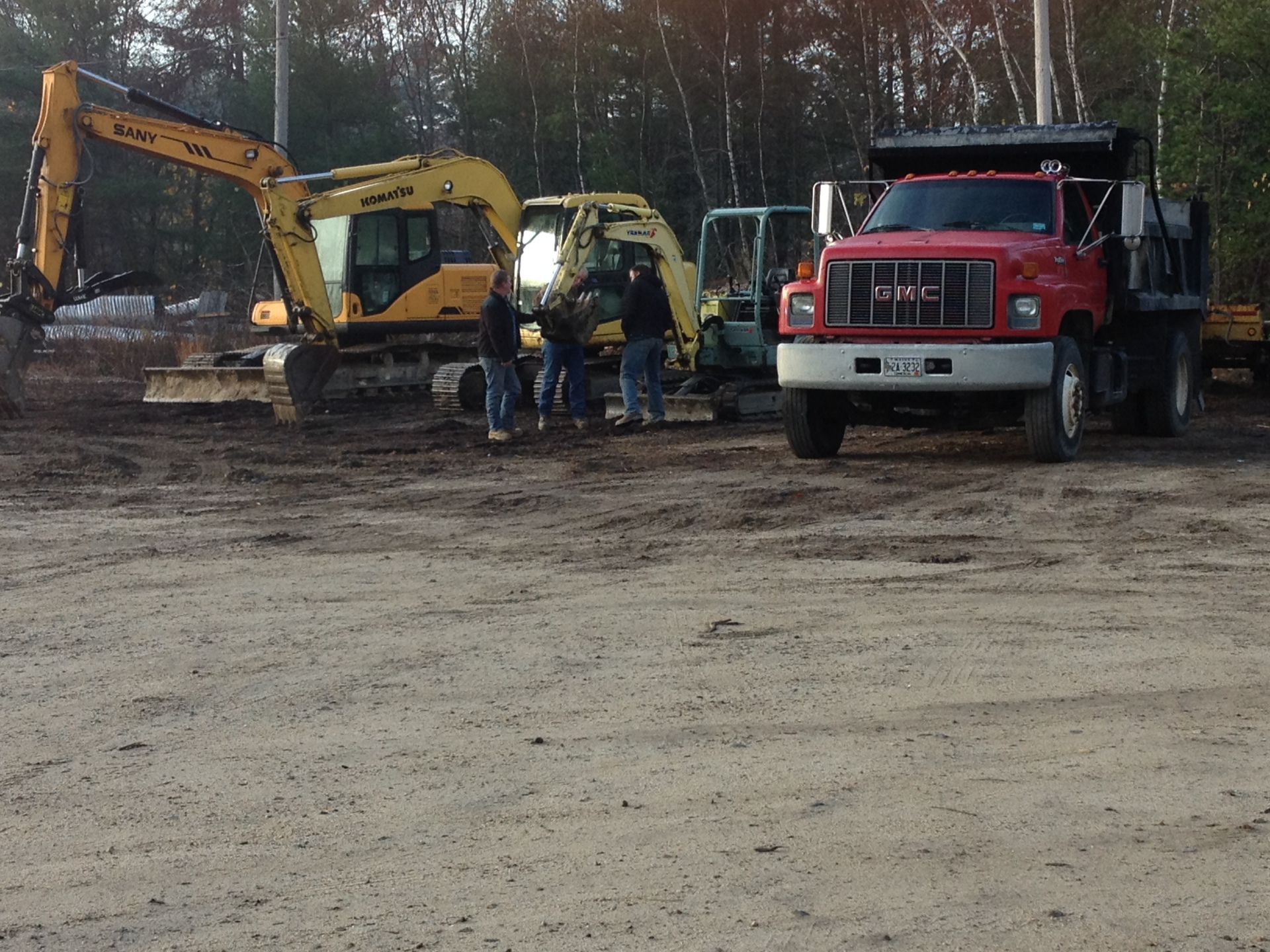 Equipment, demolition. Plowing, Snow, Removal, Insall, septic, well, foundations,