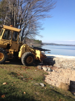 Excavating, rock removal, repairs