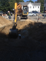 Removal, repairs, installation, pipe, concrete