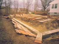 Wall forms, forms, foundation, footers,