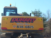 Durant, Excavating, contractor, septic, leach field, site evaluations,