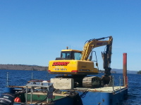 Excavating Services, Barge