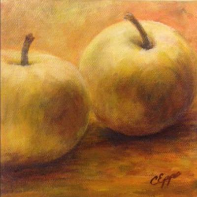 apple painting