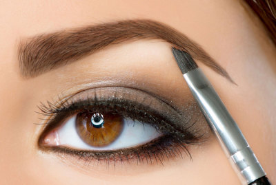 eyebrow tinting and eyebrow extensions