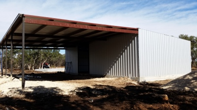 metal building | Construction | Remodel | Land Clearing | Cabinets | Rain Water Harvesting
