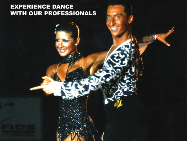 professional dance teachers, italian champions, rosario privitera