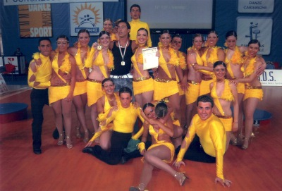 Italian Champion in Choreography 2005