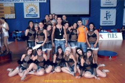 Italian Formation Dance Champion 2005