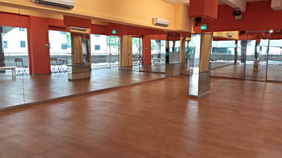 fully renovated dance studio, studio rental