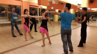 Private Lesson with Dancing Couple