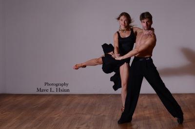Instructor Nicolas Garcia & Partner Masha Turlupova