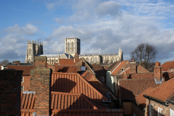 Minster view from 3rd Floor