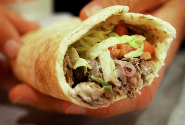 minced beef kebab @ my greek taverna