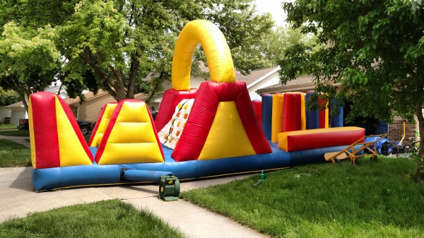 28' Obstacle Course $300