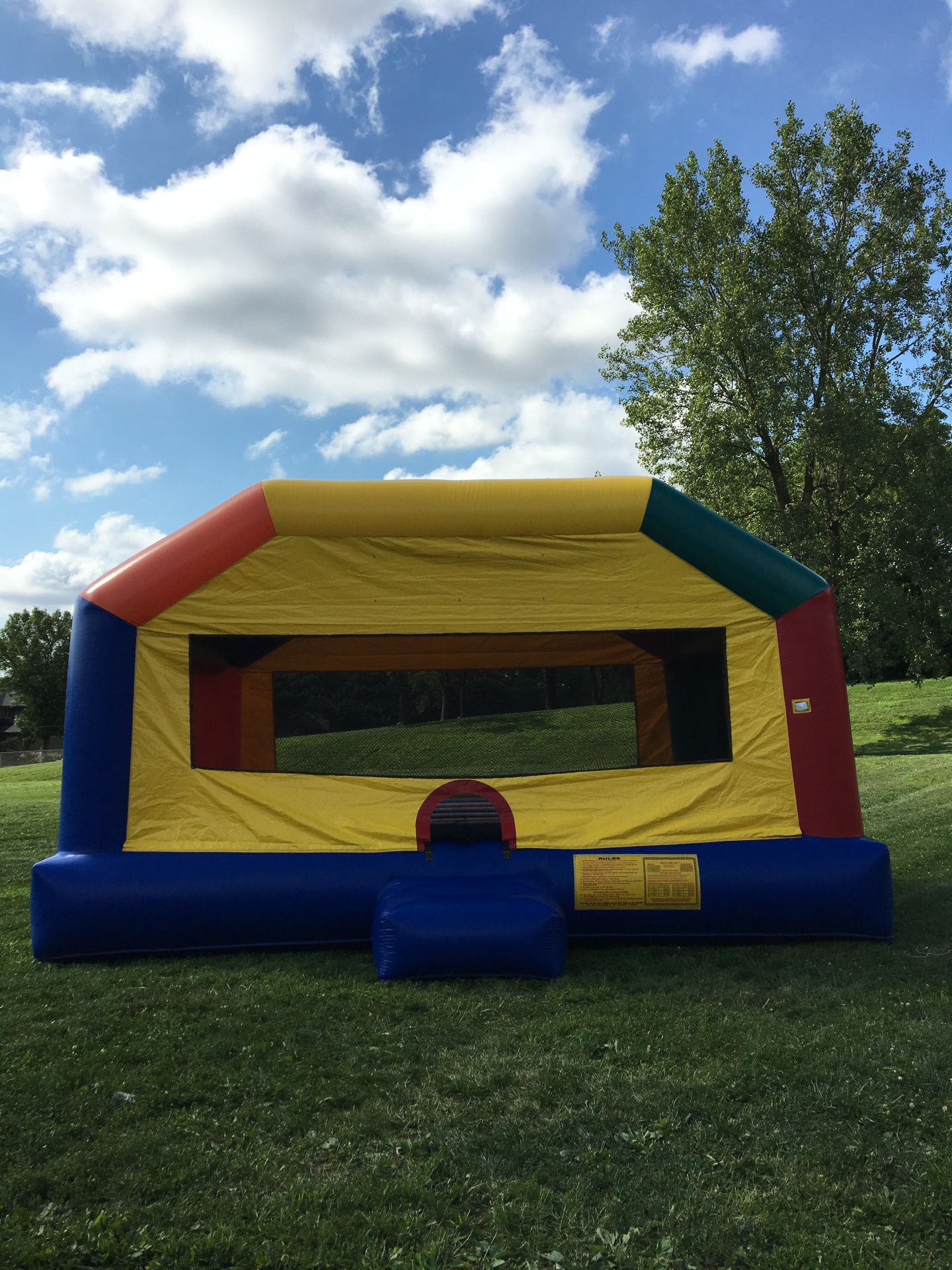 XL Bounce house $250