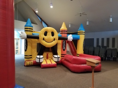 inside bounce house