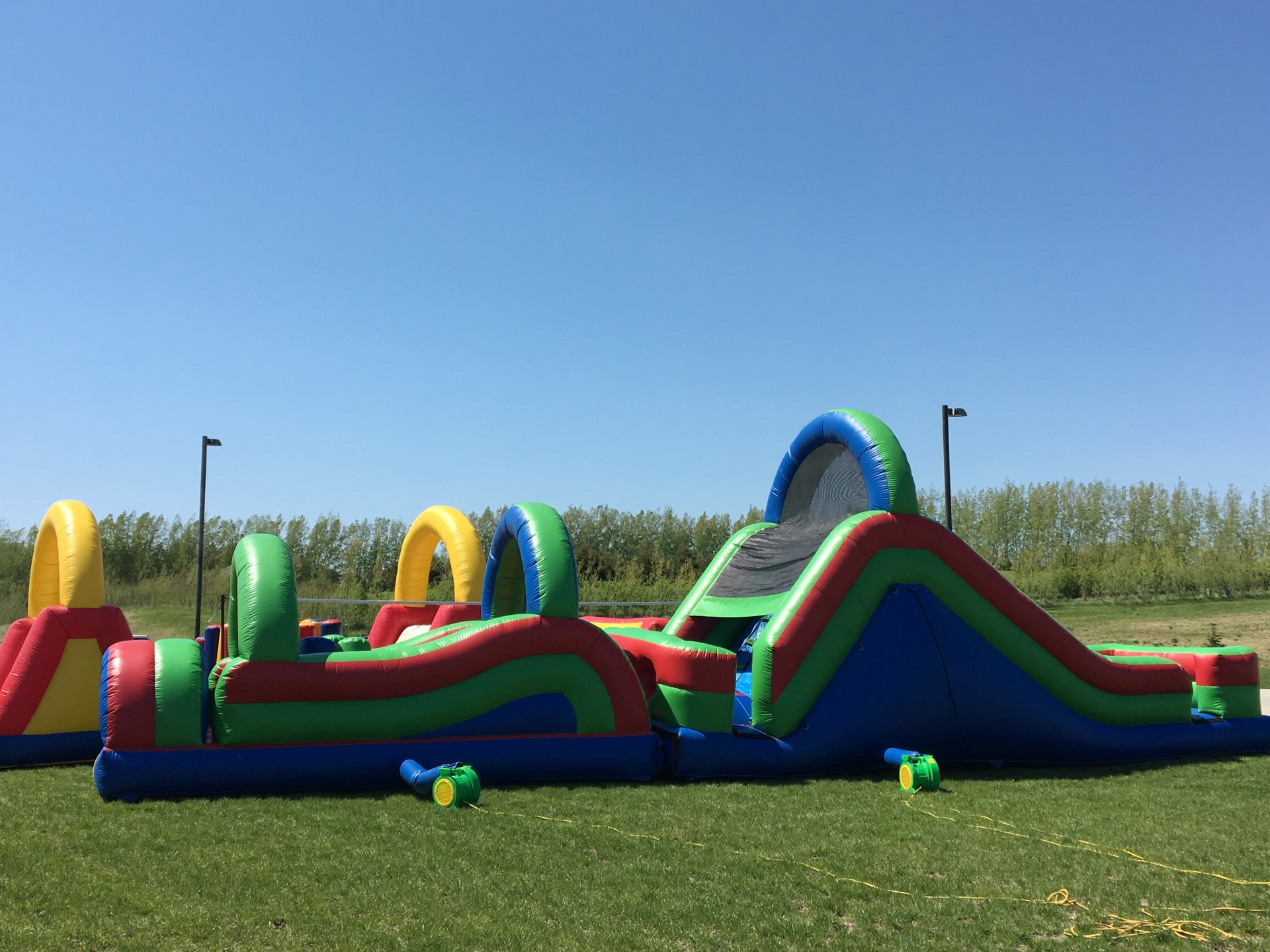 55' Obstacle Course $575