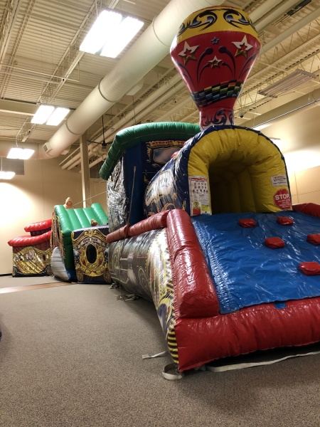 Circus Train Toddler Unit $300
