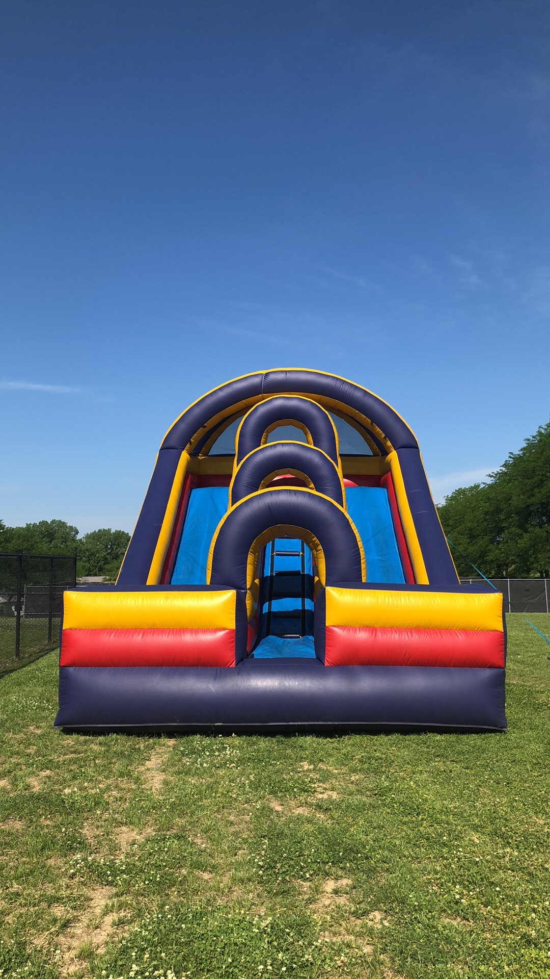 Dual Lane Slide $550/ with water $650
