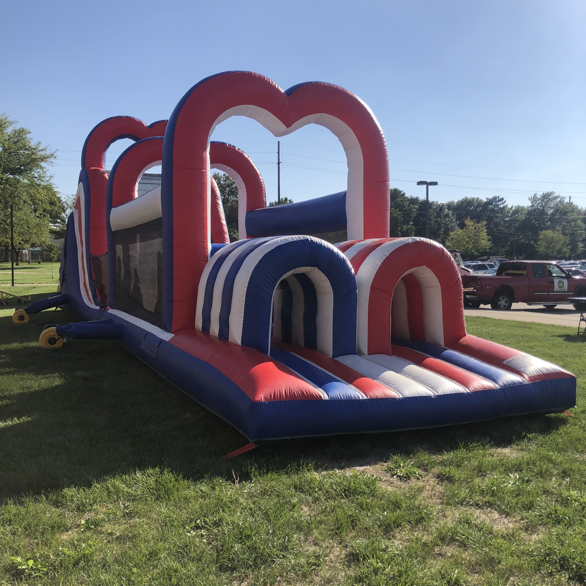 Patriotic Obstacle Course $550