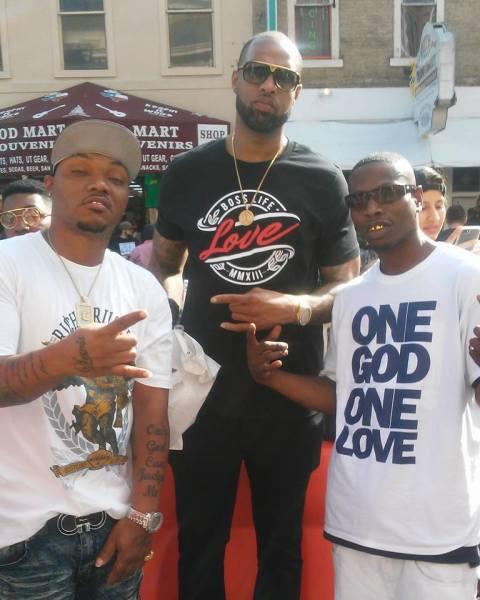 Lucki Lew, Slim Thug, and Murder