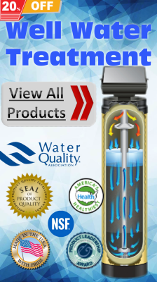 Simply Pure Water SIO/AIO for iron and sulfur filter system