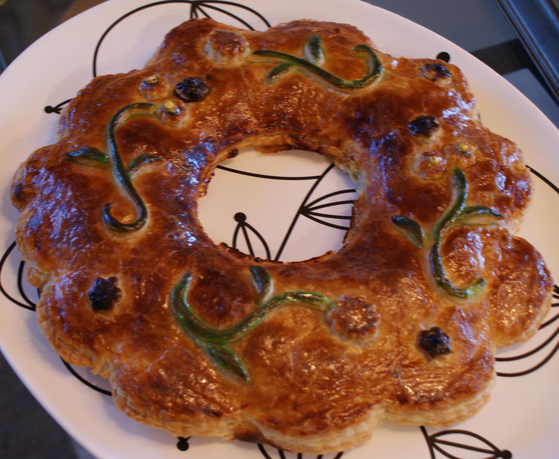 Customize almond cake(king cake)