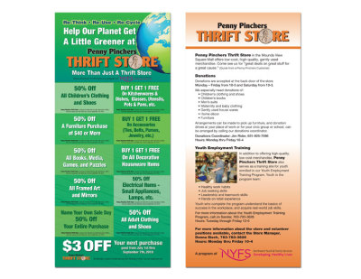 Penny Pinchers coupon card