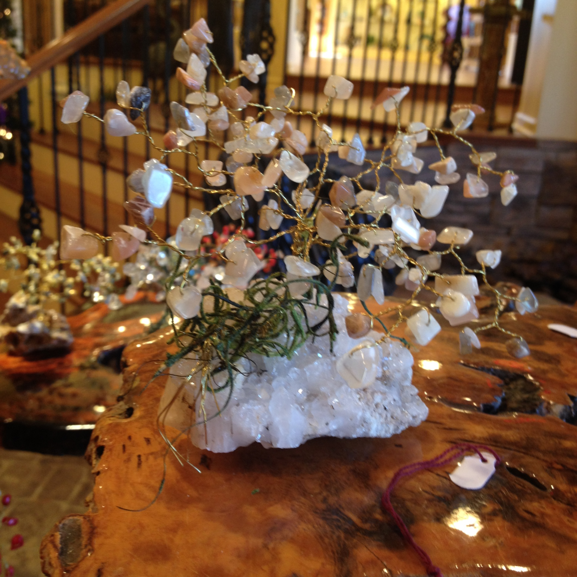Moonstone Gem Tree