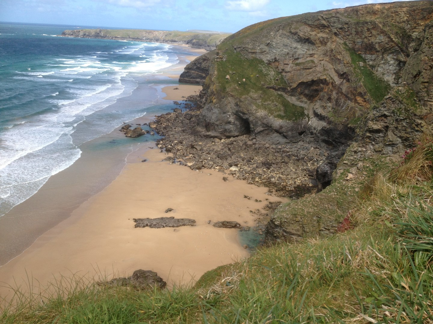 High Cove between Mawgan Port and Bedruthan