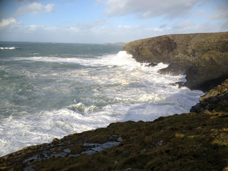 North of Park Head towards Porthcothan