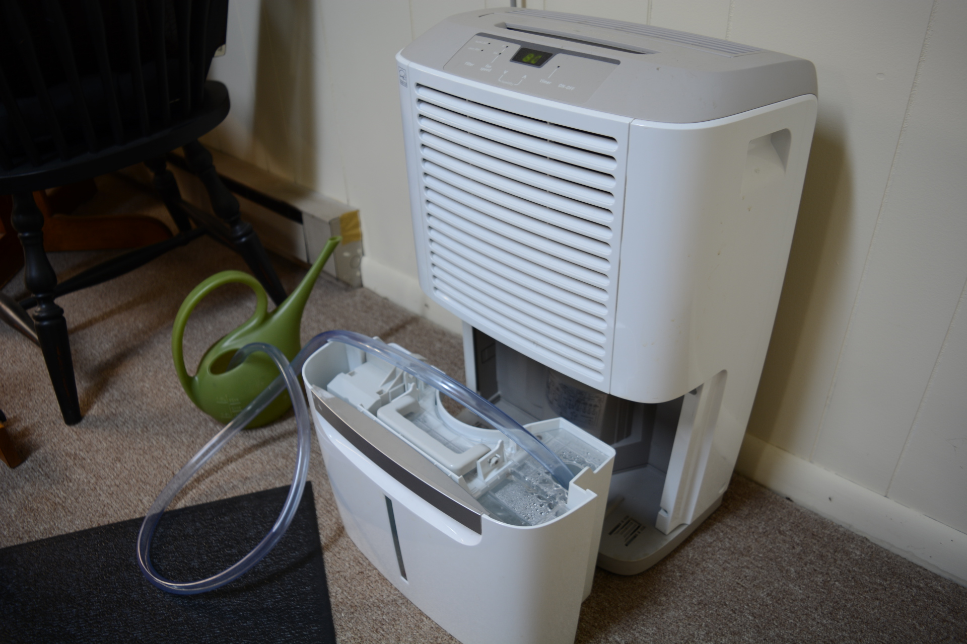 Using Grey Water from a Dehumidifier