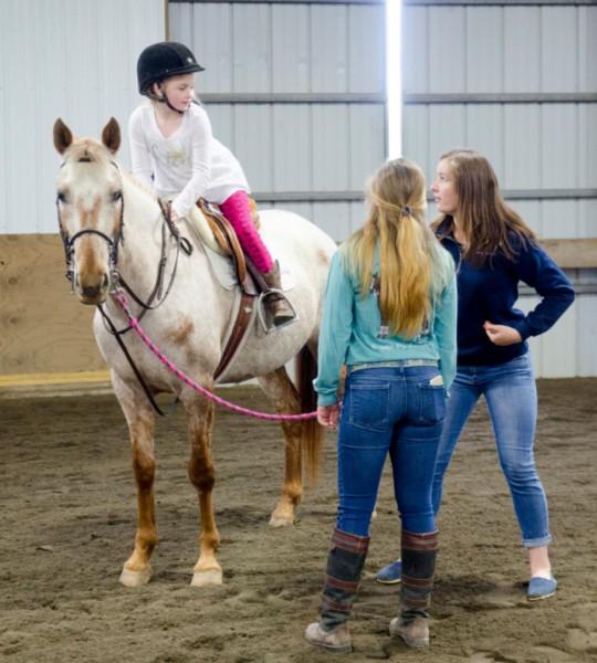 Pony Rides at Summer Camp