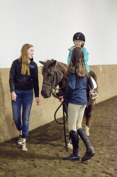 Happy Horseback Riders are our goal