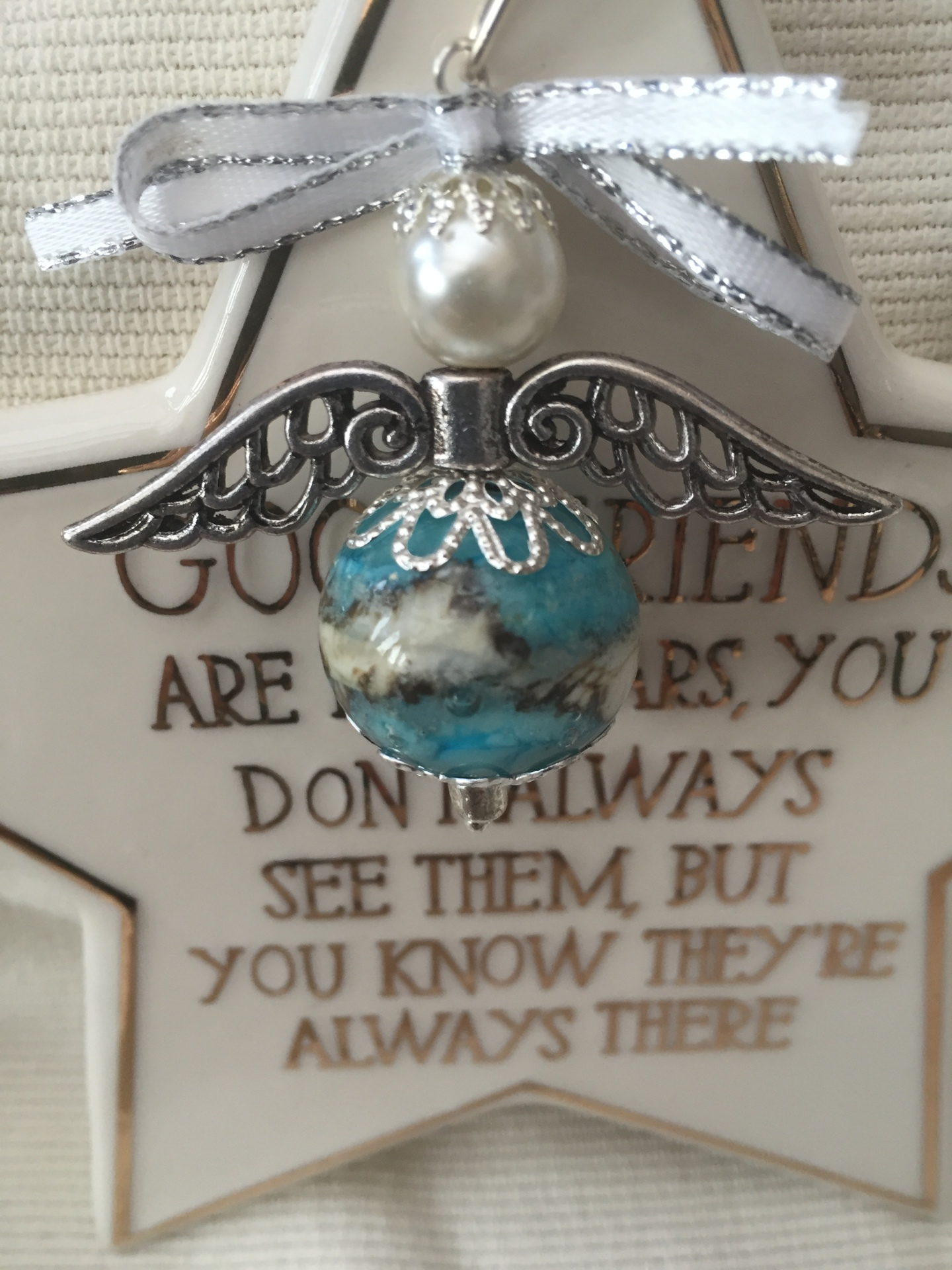angel memorial glass cremation ash