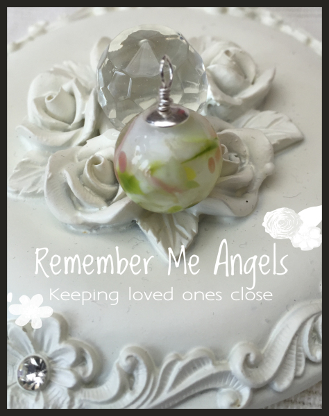 sterling silver ashes memorial beads