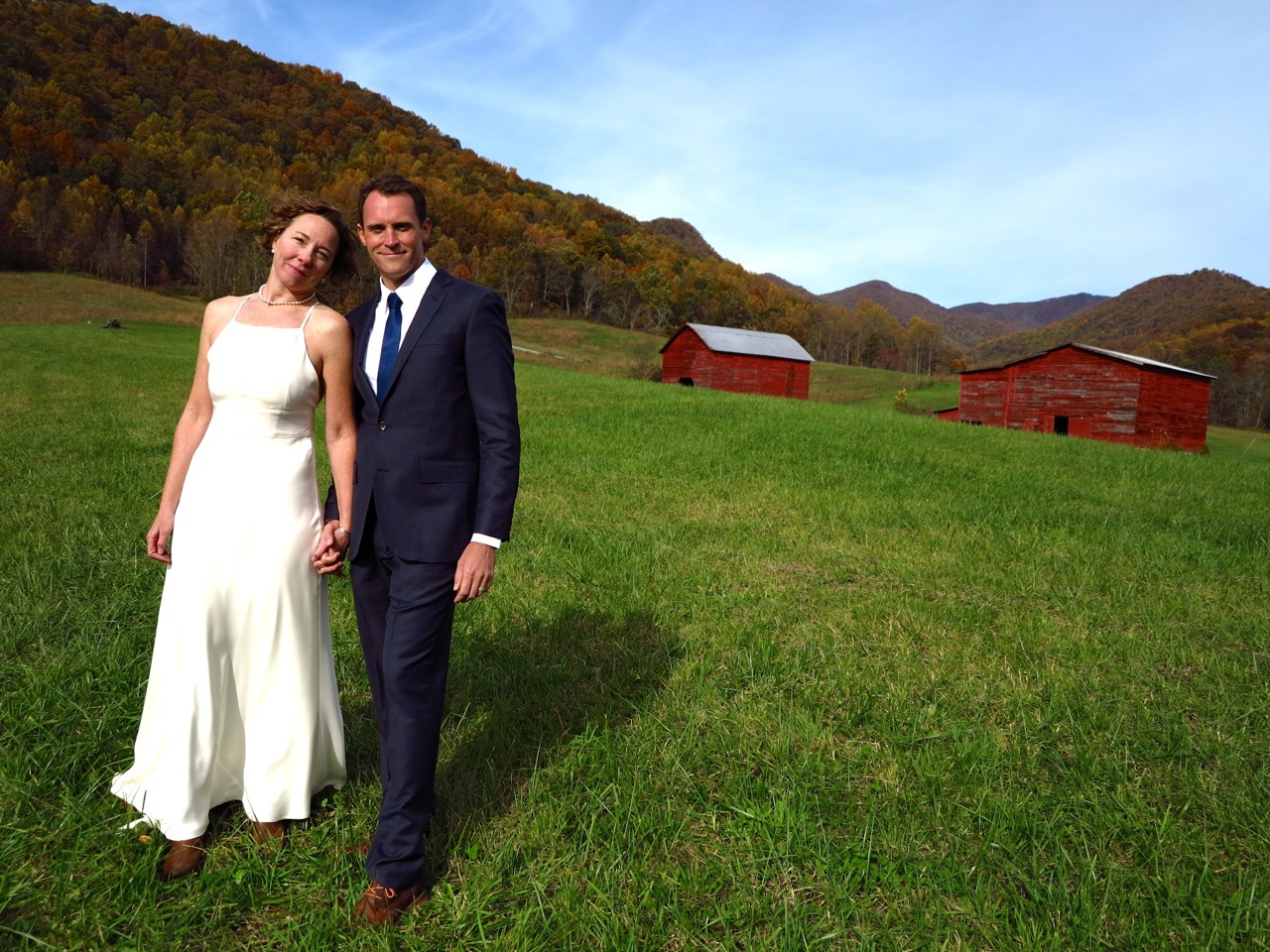 Hatton and Cameron tied the knot at Ivy Creek