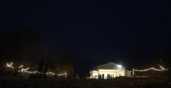 Pavilion at Night