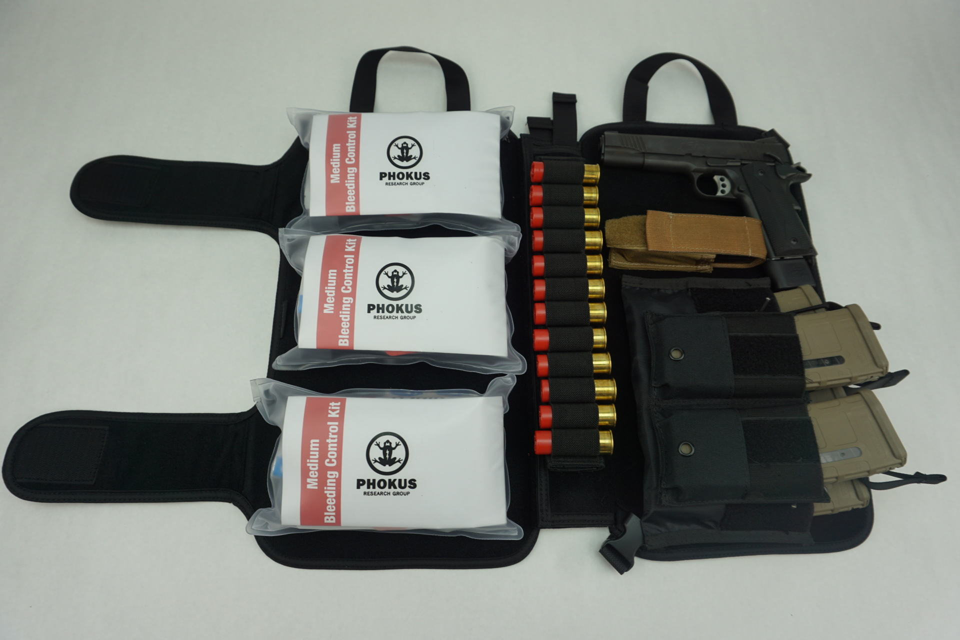 Large Tactical Black DASH bag