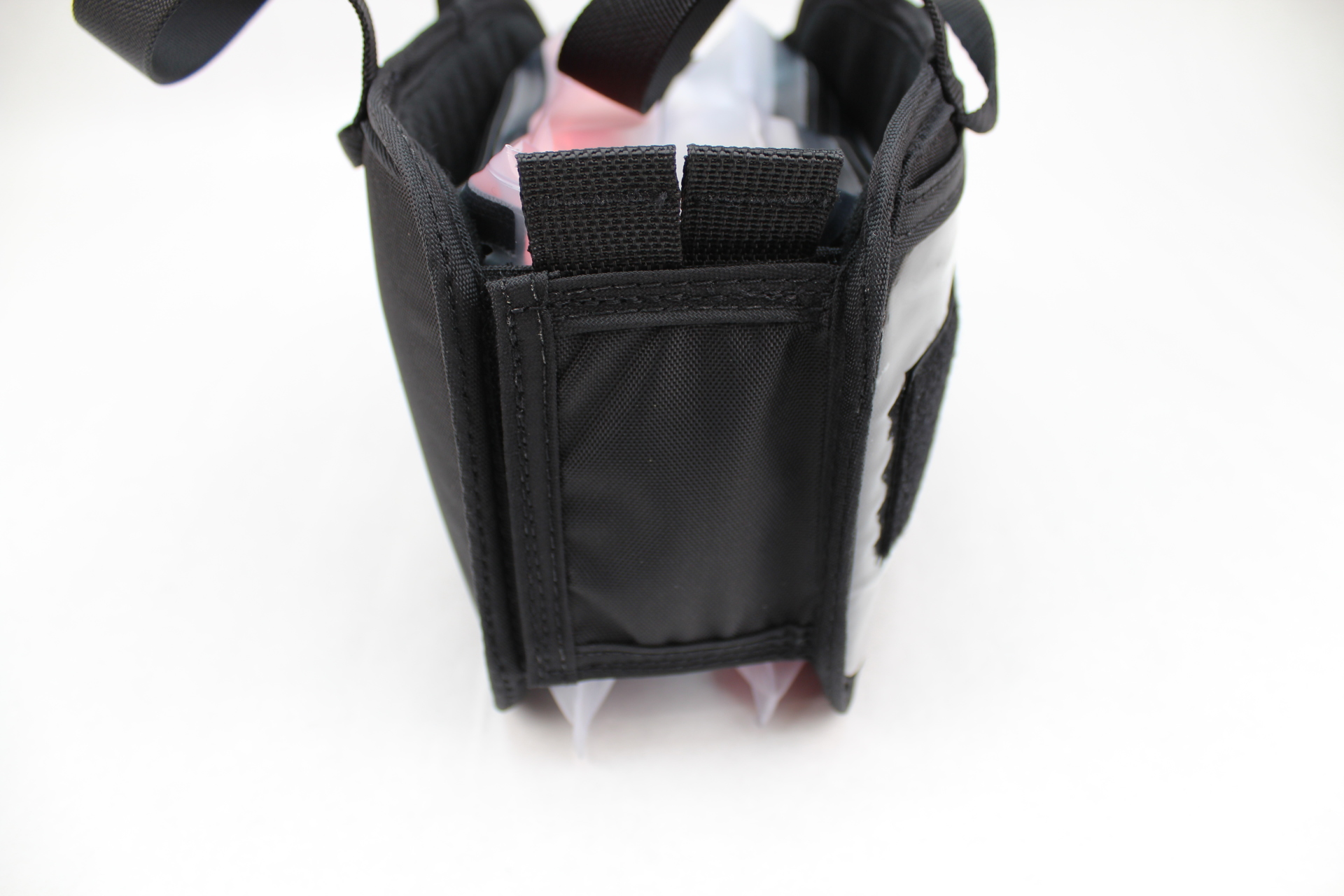 Small Tactical DASH bag binding side view
