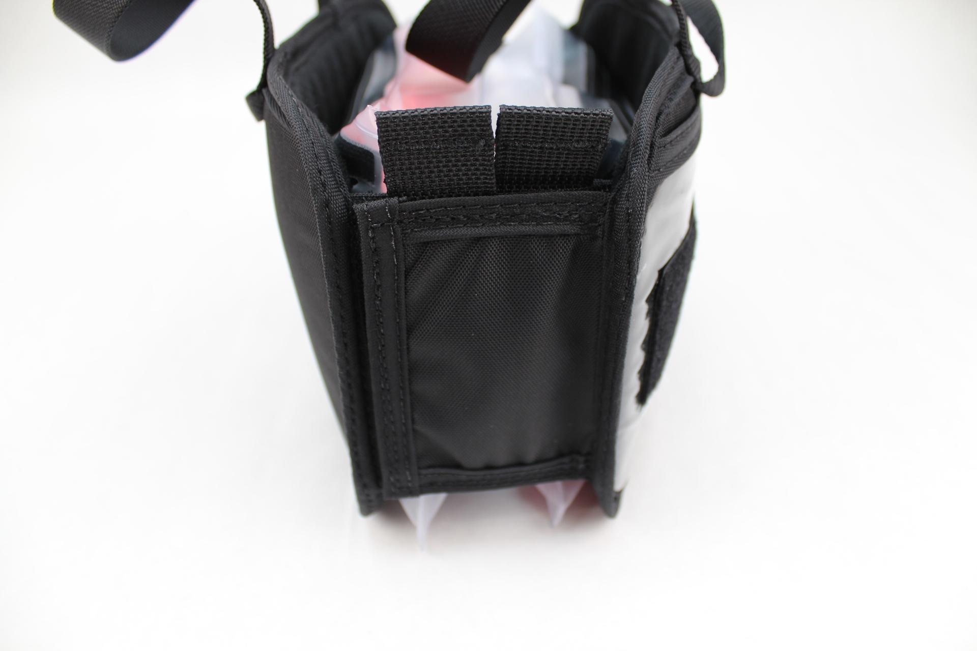 Small Tactical DASH bag binding side view