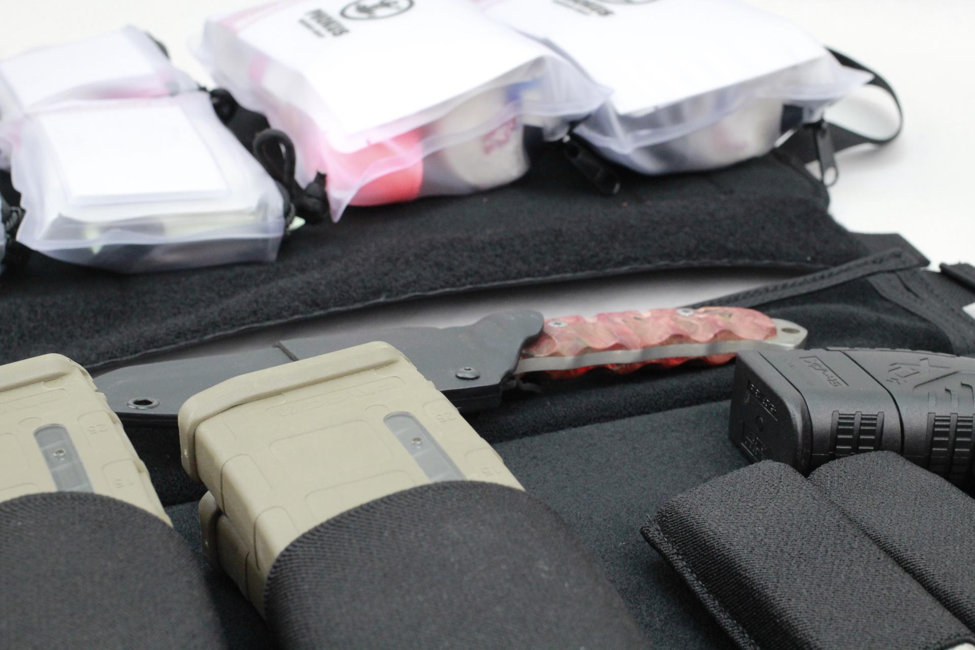 Large Tactical DASH bag alternate load