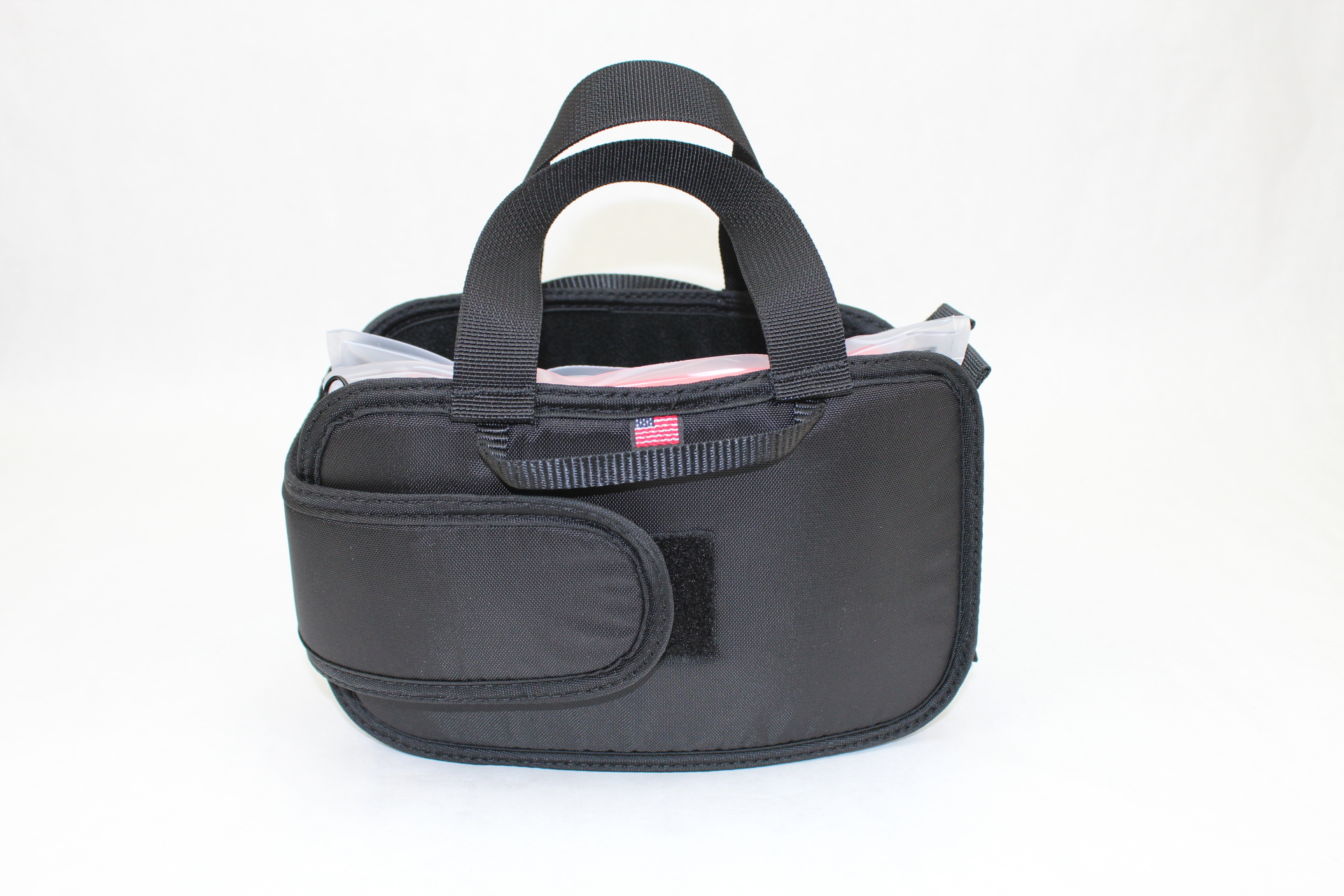Small Tactical DASH bag backside view